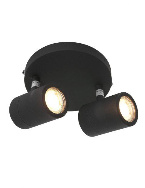 Tweelichts LED spot-2487ZW