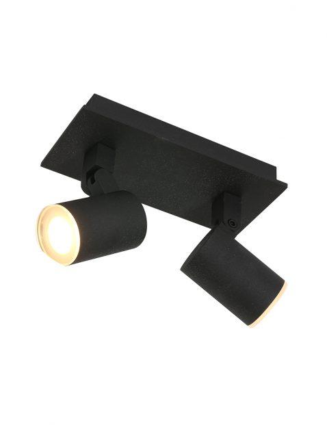 Tweelichts LED opbouwspot-3060ZW