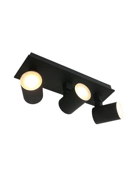 Drielichts LED plafond spot-3061ZW