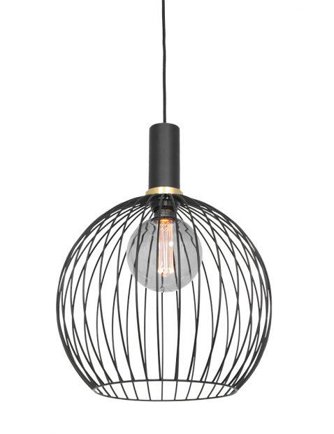 Metalen kooi hanglamp-3067ZW