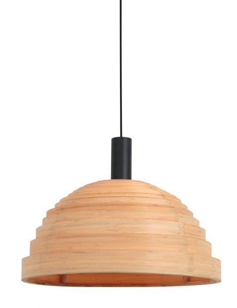 Beuken houten hanglamp met ringen-3080BE