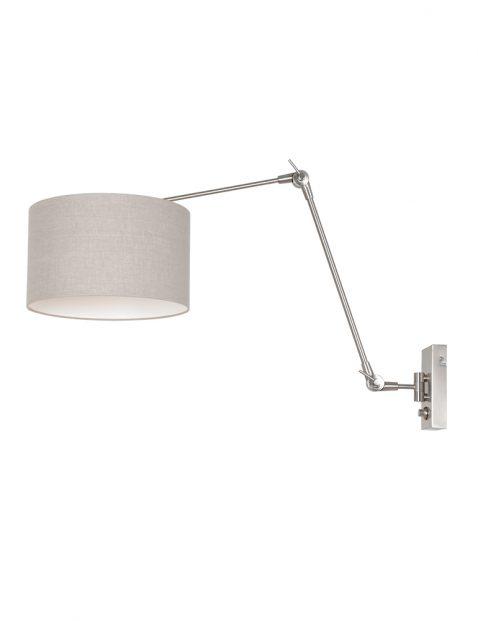 Grote wandlamp met kap-8107ST