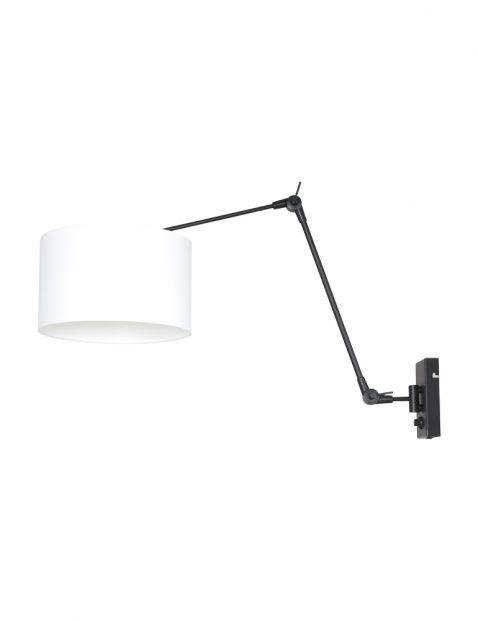 Wandlamp met verstelbare boog-8118ZW