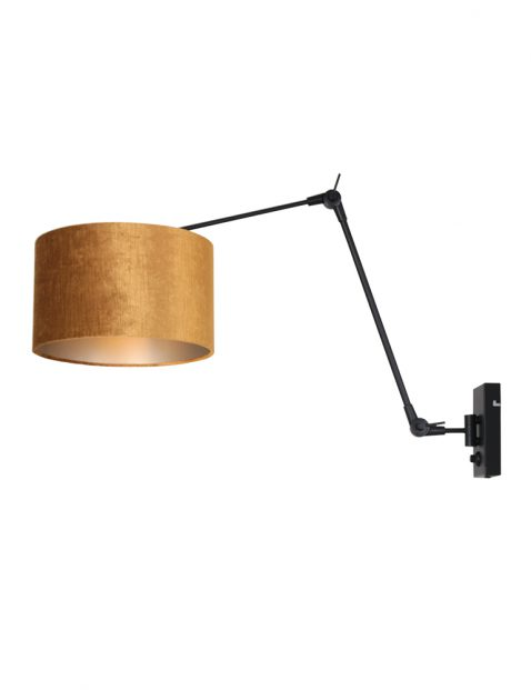 Verstel- en dimbare wandlamp-8123ZW