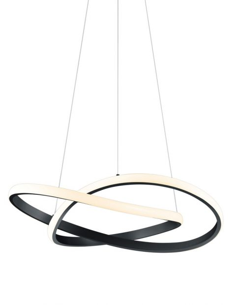 Design hanglamp met LED strip-2552ZW
