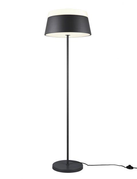 Zwarte design vloerlamp-3132A
