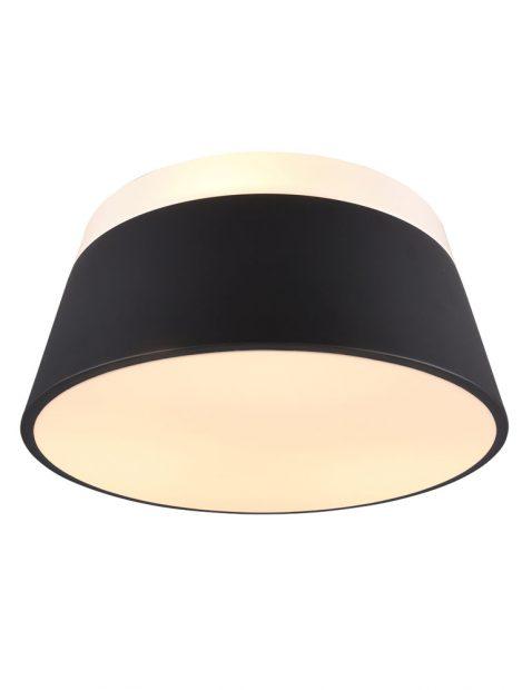 Plafondlamp met metalen lampenkap-3133A