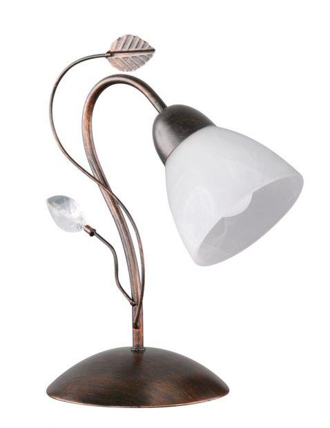Sierlijk sfeerlampje met blaadjes-3151B