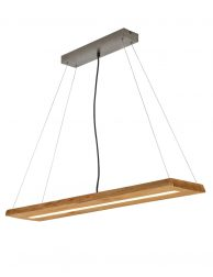 LED eettafellamp houten plank-3155BE