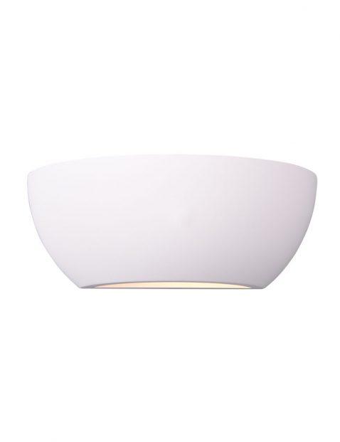 Overschilderbare gips wandlamp-3174W