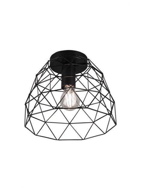 Geometrische draad plafondlamp-3190ZW