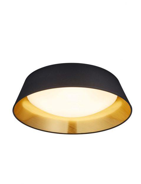 LED plafondlamp kap met gouden binnenkant-3202ZW
