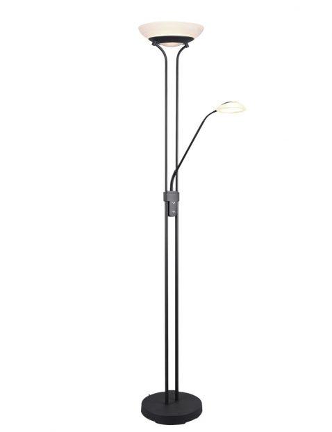 Vloerlamp met leesarm-3207ZW