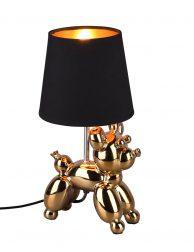 Ballondier tafellamp hond-3208GO
