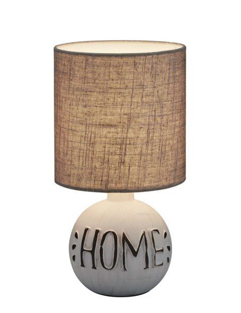 Schemer tafellamp met letters-3209GR