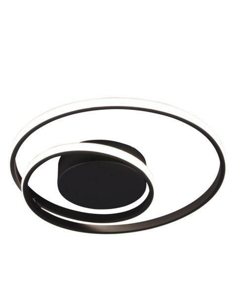 Led plafondlamp dubbele ringen-3213ZW