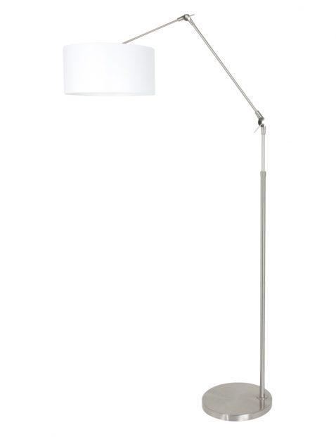 Stalen vloerlamp met knikarm-8100ST