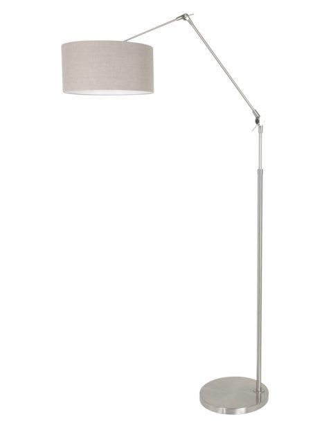 Stalen staande lamp met knikarm-8101ST