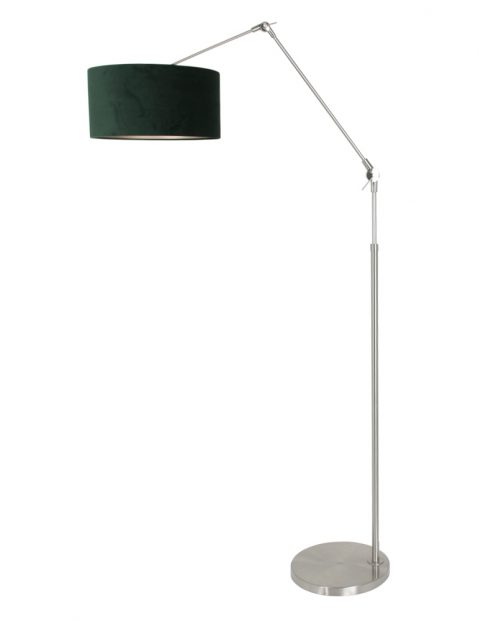 Stalen knikarm vloerlamp-8103ST