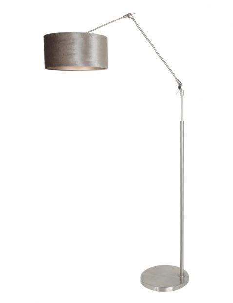 Verstelbare vloerlamp lange arm-8104ST