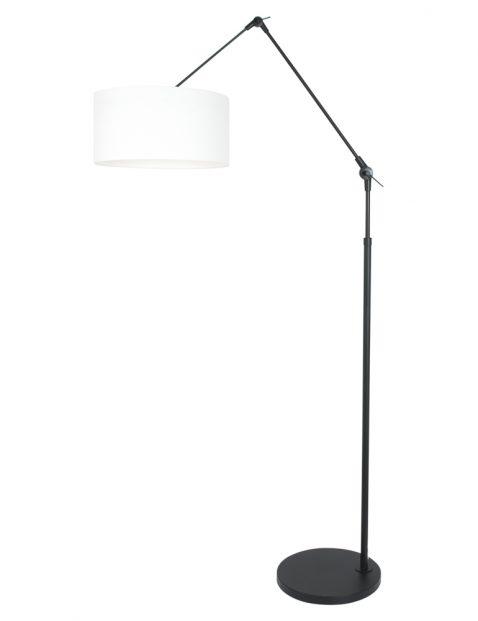 Zwarte booglamp met knikarm-8114ZW