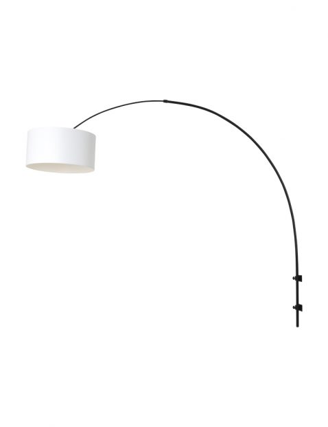 Zwarte boog wandlamp-8136ZW