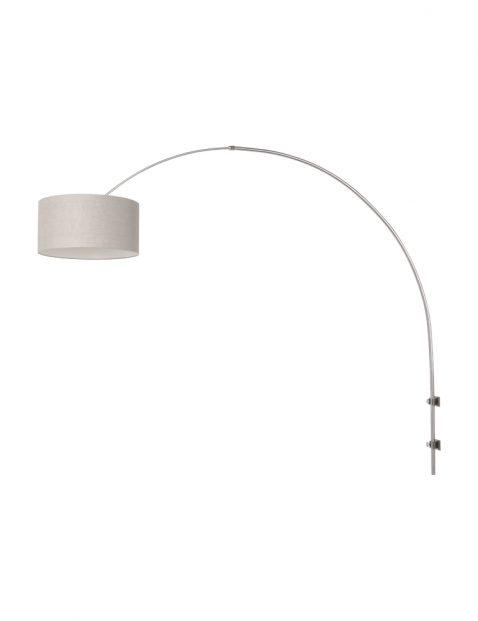 Design wandlamp met boog-8143ST