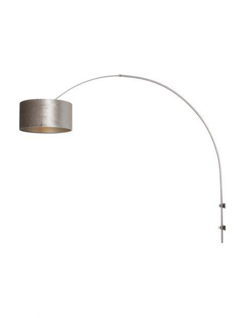 Wandlamp met trendy kap-8146ST