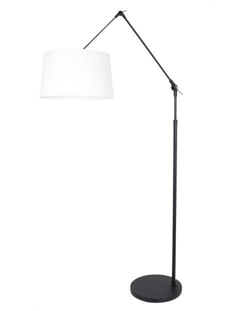 Vloerlamp met knikarm-8184ZW