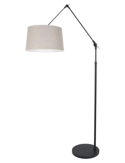 Staande lamp met grote knikarm-8185ZW