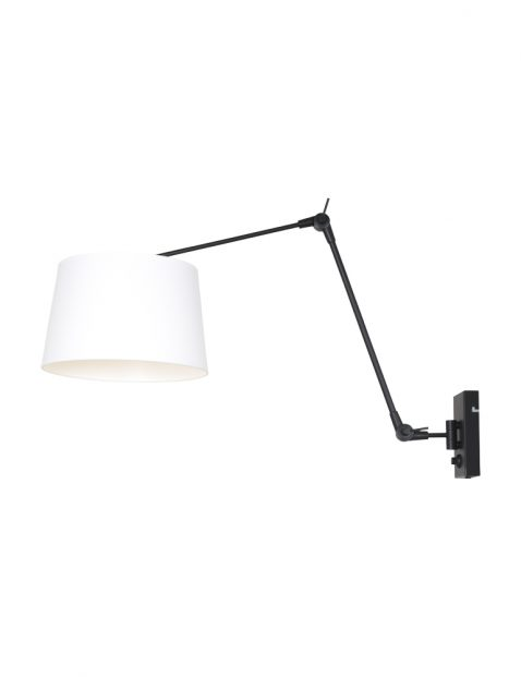 Wandlamp met uitklaparm-8186ZW