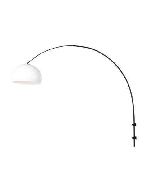 Wandlamp met bolle kap-8195ZW