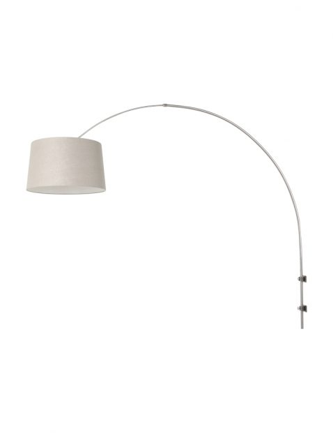 Boogwandlamp met lampenkap-8199ST