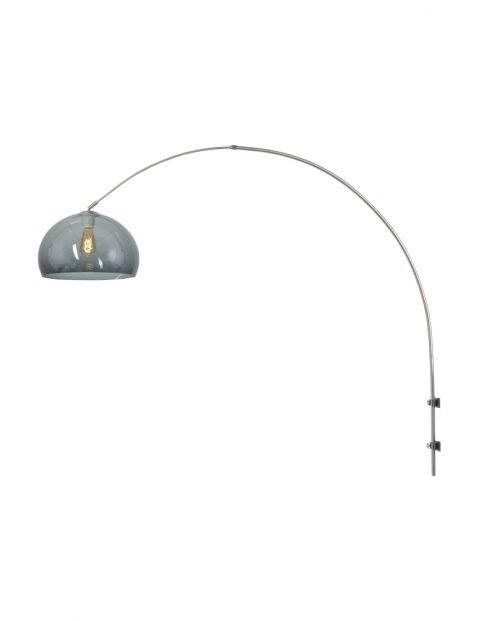 Grote verstelbare wandlamp met bol-8201ST