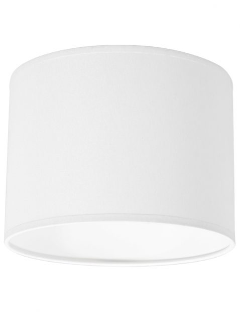 Effen gladde ronde lampenkap 20 cm-K30842S