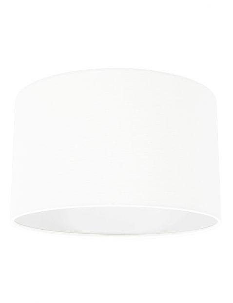 Gladde effen ronde lampenkap 30 cm-K73962S