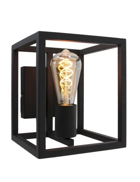 Vierkante frame wandlamp-3263ZW