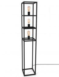 Vloerlamp drie vierkanten in frame-3266ZW