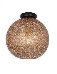 Oosterse plafondlamp met gaatjes-3269GO