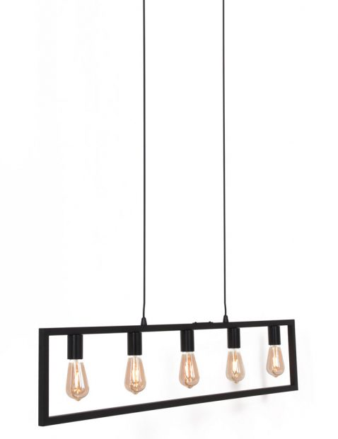 Vijflichts framelamp-3289ZW