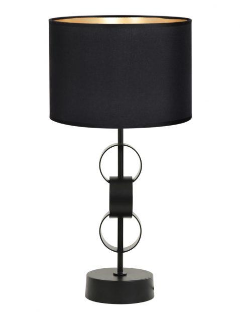Schemer tafellamp met grijze kap-8255ZW