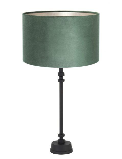 Schemerlamp met groene kap-8265ZW
