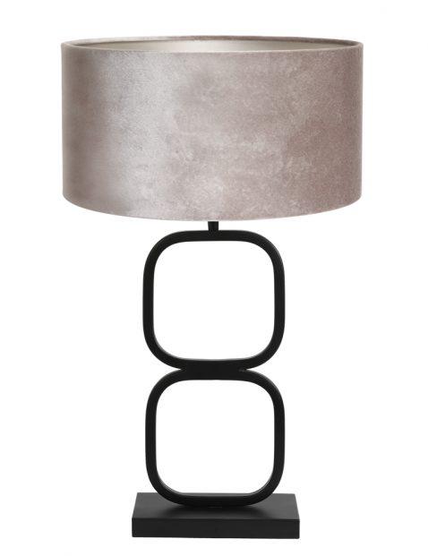 Tafellamp voet met kap-8277ZW