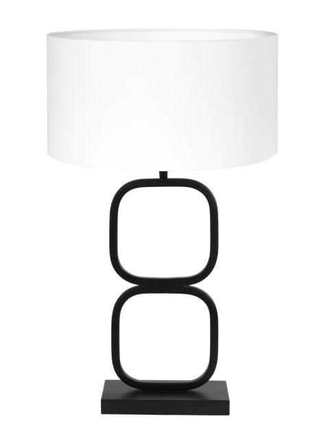 Lampvoet dubbele cirkel-8279ZW