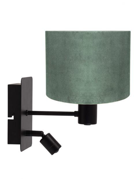 Velvet wandlamp met leeslampje-8293ZW