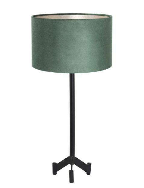 Groene velvet schemerlamp-8306ZW