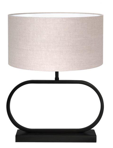 Sfeervolle tafellamp met bruine kap-8315ZW