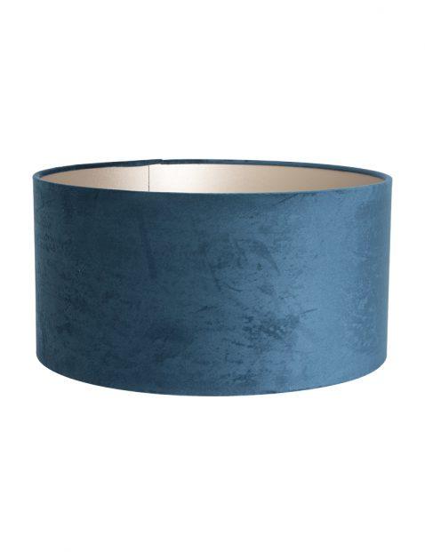 Ronde fluwelen lampenkap 40 cm-K1068ZS