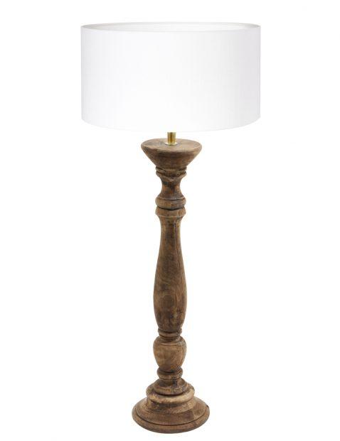 Scandinavische houten tafellamp-8354BE