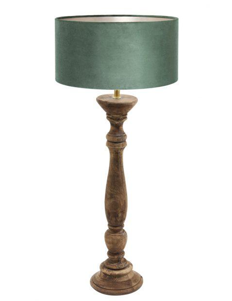 Botanische houten schemerlamp-8356BE